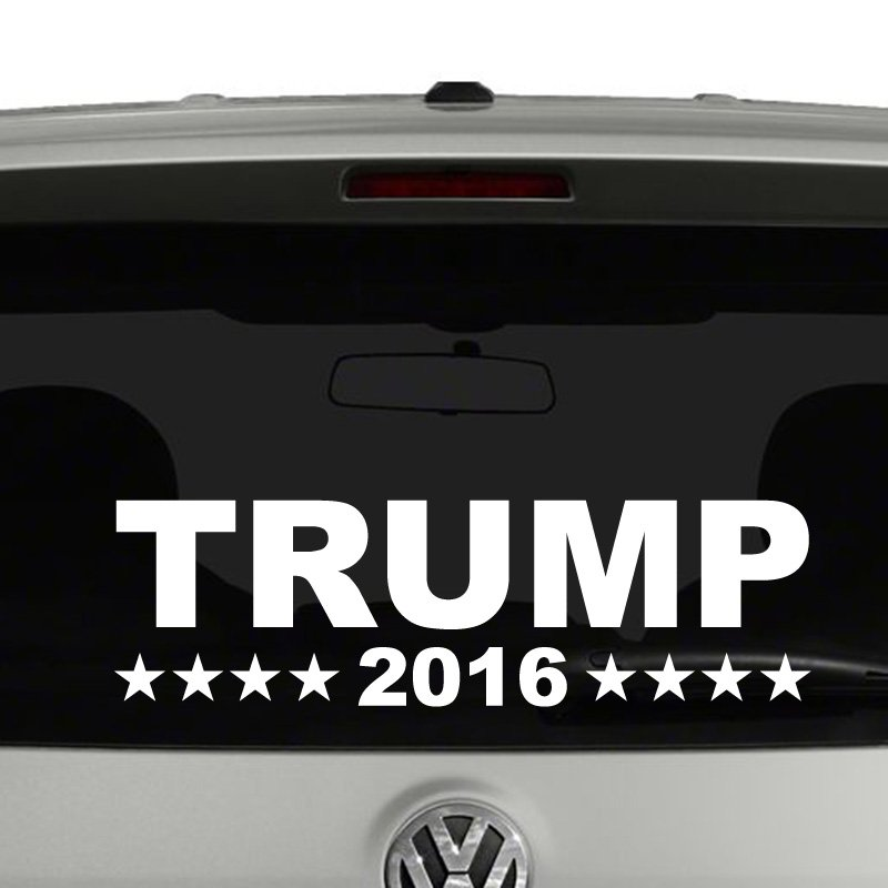 Trump 2016 President Campaign Vinyl Decal Sticker