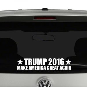 Trump 2016 Make America Great Again President Campaign Vinyl Decal Sticker