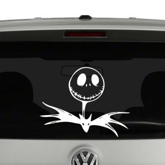 Jack Skellington Nightmare Before Christmas Inspired Vinyl Decal Sticker