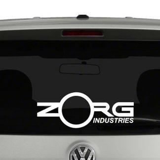 Zorg Industries 5th Element Inspired Vinyl Decal Sticker