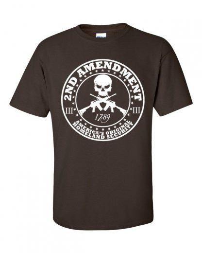 2nd Amendment Americas Original Homeland Security Short Sleeve T-Shirt