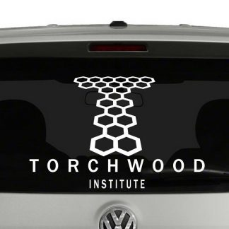 Torchwood Institute Symbol Doctor Who Inspired Vinyl Decal Sticker