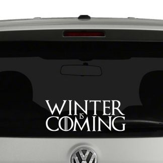 Winter Is Coming Game of Thrones Inspired Vinyl Decal Sticker