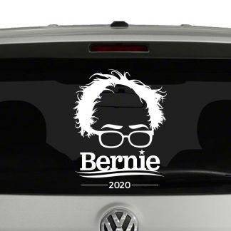 Bernie Sanders Silhouette 2020 Vinyl Decal Sticker Car Window