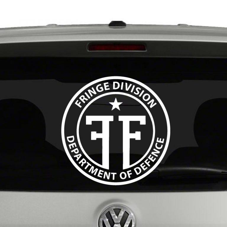 Fringe - Fringe Division Emblem Vinyl Decal Sticker