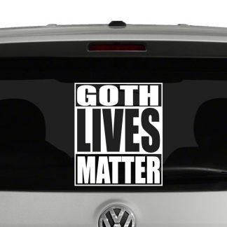 Goth Lives Matter Vinyl Decal Sticker