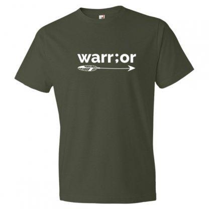 Semicolon Warrior Suicide Prevention Awareness Women's T Shirt