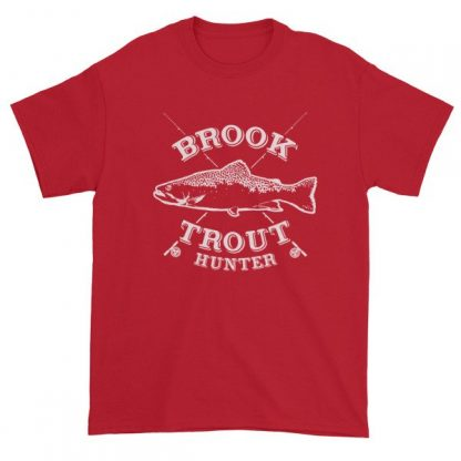 Brook Trout Hunter Fishermans T-Shirt