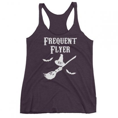 Frequent Flyer Witches Broom Women's Tank Top