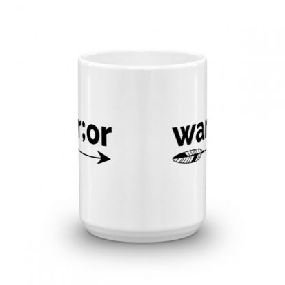 Semicolon Warrior Suicide Prevention Awareness Ceramic Mug