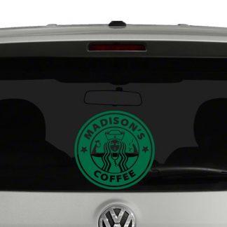 Starbucks Nurse Coffee Vinyl Decal Sticker