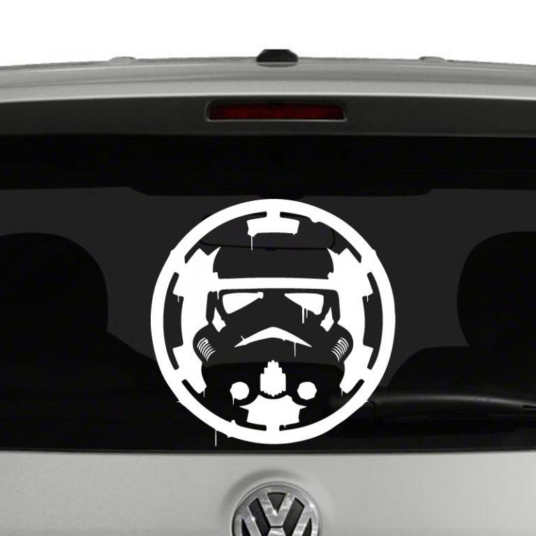 Stormtrooper Bloody Empire Logo Vinyl Decal Sticker