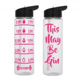 Water Tracker – This May Be Gin Sports Water Bottle 24 Oz