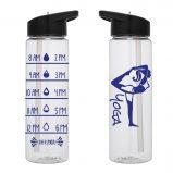 Water Tracker - Yoga Pose Water Bottle 24 Oz Yoga