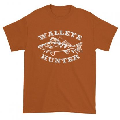 Walleye Hunter Fishing Lovers T-Shirt