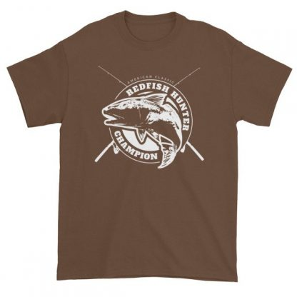 Redfish Hunter American Classic Fishing Lovers T-Shirt