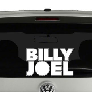 Billy Joel Vinyl Decal Sticker