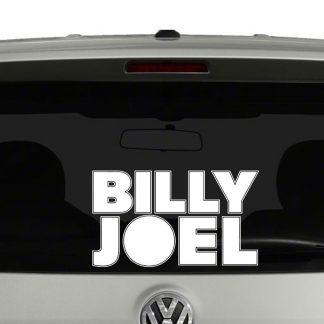Billy Joel Vinyl Decal Sticker