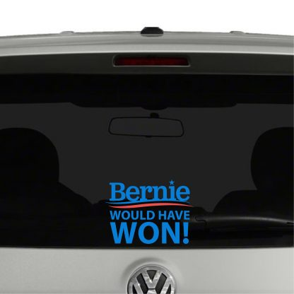 Bernie Would Have Won Vinyl Decal Sticker