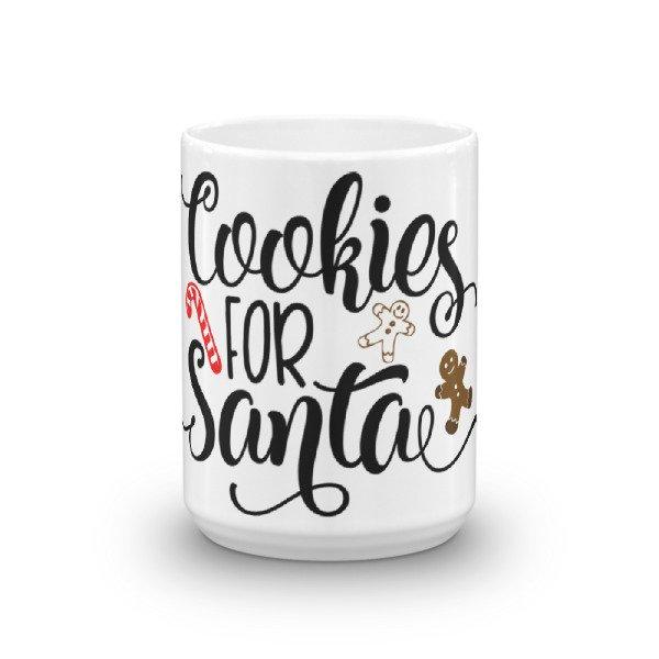 Cookies For Santa Claus Christmas Coffee Mug Cosmic