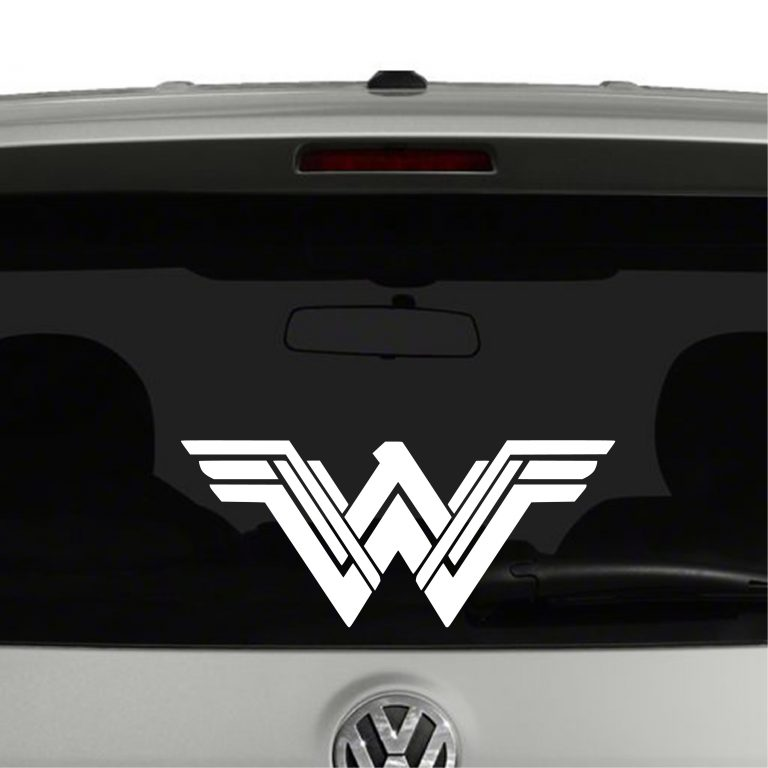 Wonder Woman New Vinyl Decal Sticker Car Window Super Heroes