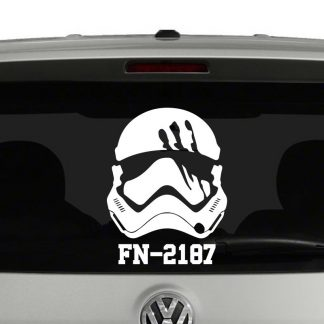 Finn Stormtrooper FN-2187 Star Wars Inspired Vinyl Decal Sticker