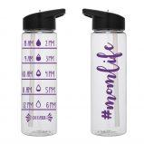 Water Tracker – #momlife Hashtaag Mom Life Sports Water Bottle