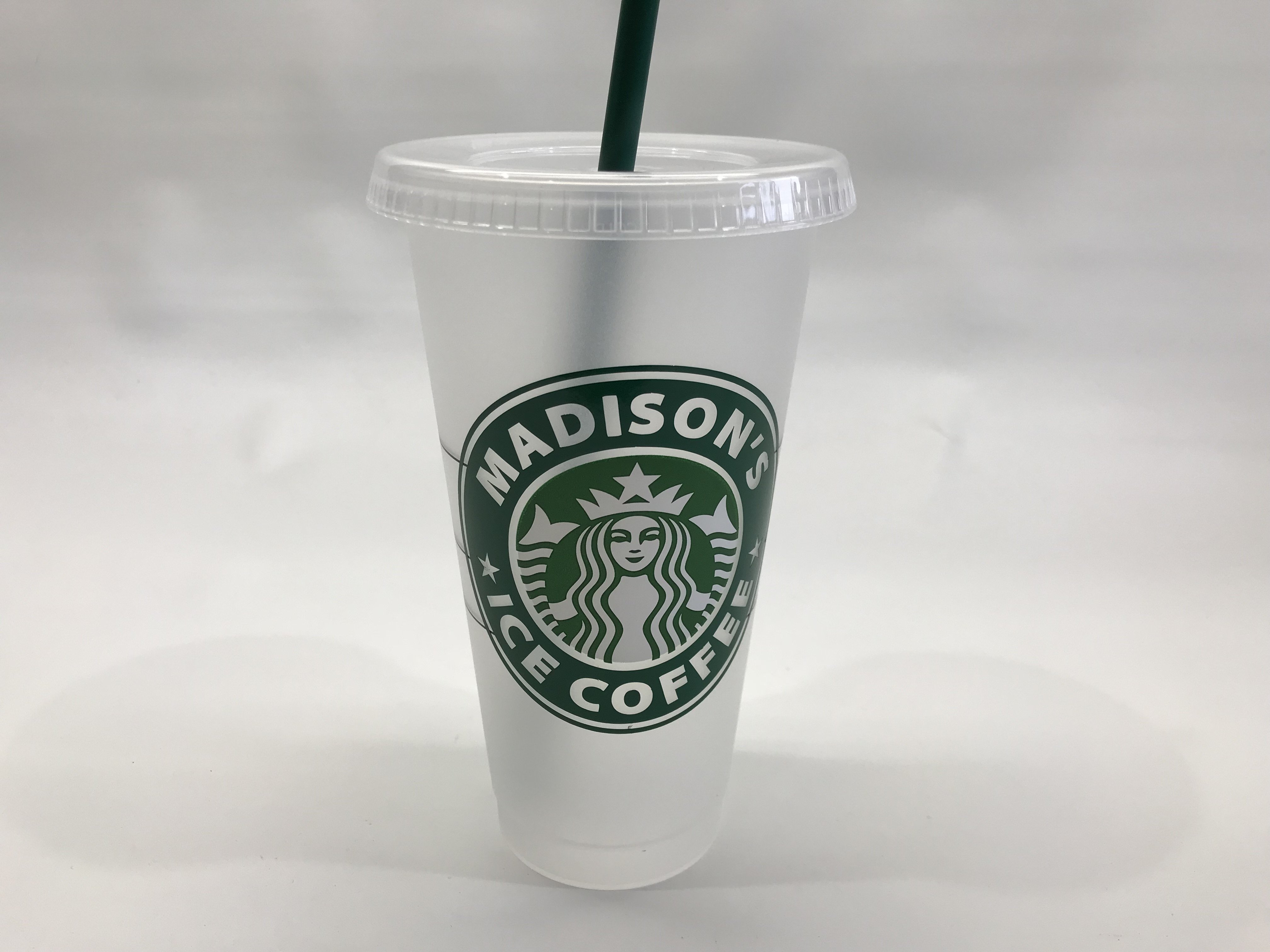 Starbucks 24oz Reusable Cold Cup With Custom Personalized