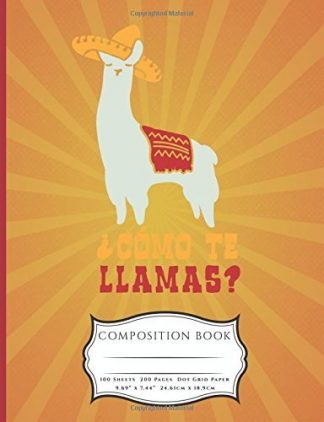 Como Te Llamas Composition Book