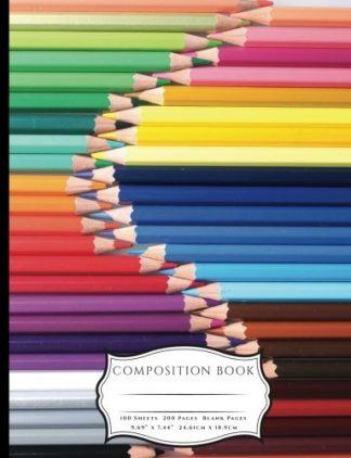 Colored Pencils Composition Book