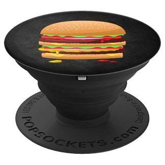 Hamburger Double Cheeseburger Hamburger Lovers - PopSockets Grip