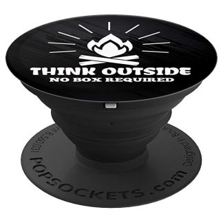 Think Outside, No Box Required Camping Outdoors - PopSockets Grip