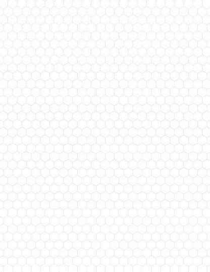 Hexagon Graph Paper