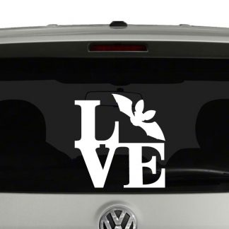Love Bats Bat Lovers Vinyl Decal Sticker