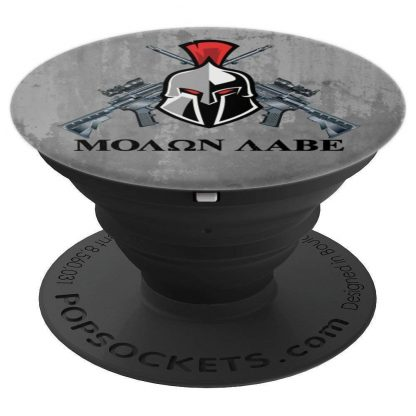 Molon Labe Come And Take Them 2nd Amendment Marble - PopSockets Grip