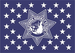 California Highway Patrol Flag Union