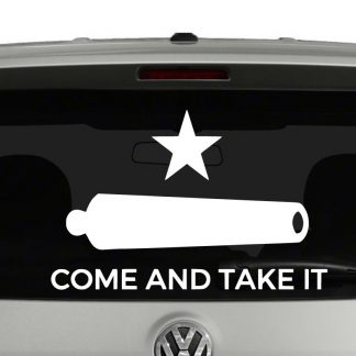 Gonzales Flag Come And Take It Patriotic Vinyl Decal Sticker