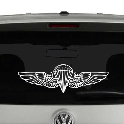 Marine Corp Navy Parachutist Wings Jump Wings Vinyl Decal Sticker