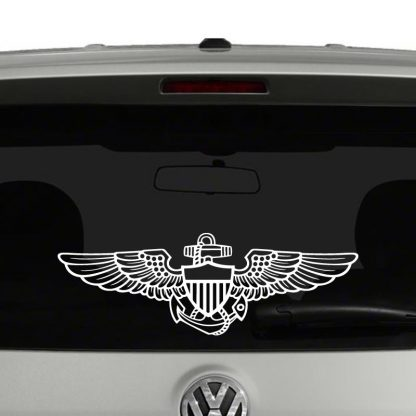 Navy Naval Aviation Wings Vinyl Decal Sticker