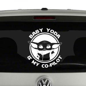 Baby Yoda is My Co-Pilot