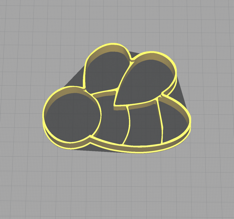 Bee Bumble Bee Shaped Cookie Cutter
