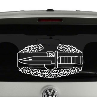 Army Combat Action Badge Vinyl Decal Sticker