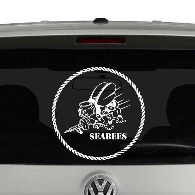 Navy Seabees Vinyl Decal Sticker