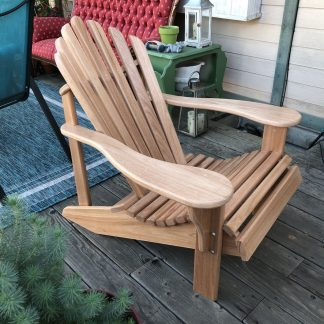 Adirondack Chair Custom Handcrafted Hardwood Chair