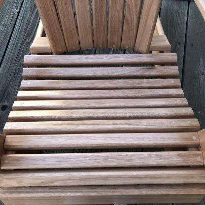 Adirondack Chair Custom Handcrafted Hardwood Chair