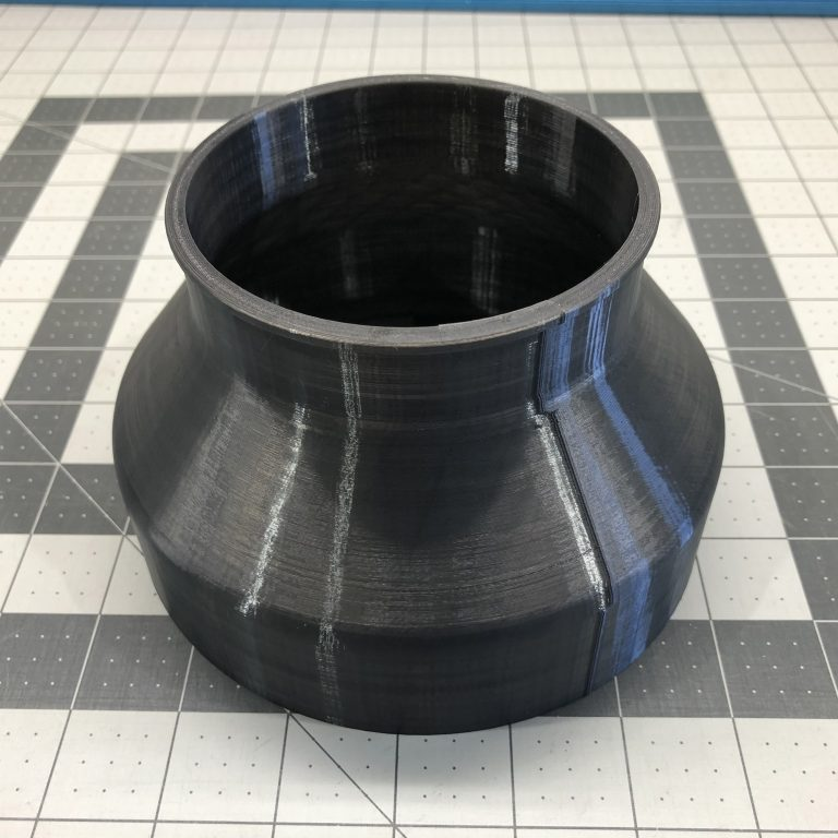 "Reducer Adapter 6"" to 4"" for Cloudline S6 Leak Free Glowforge"