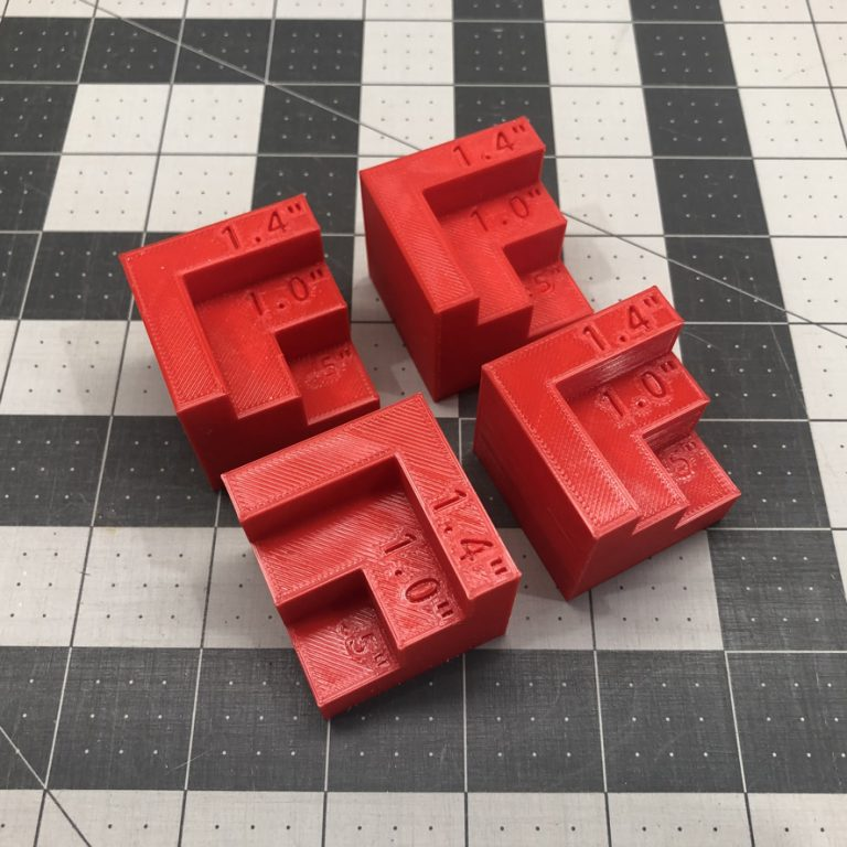 Glowforge Bed Riser Focus Blocks Magnetic