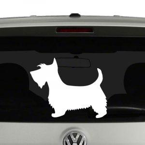 Scottish Terrier Scottie Dog Vinyl Decal Sticker